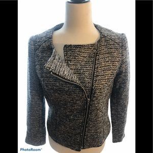 3/60 Deal ! Grey blazer with side zipper